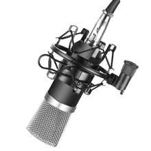 Кардиоидный конденсаторный микрофон для студийной записи двухмембранная