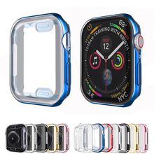 All-around Protector cover for Apple Watch 5 4 44mm 40mm iWatch band 42 mm 38mm bumper Apple watch 6 SE 5 4 3 2 1 Accessories