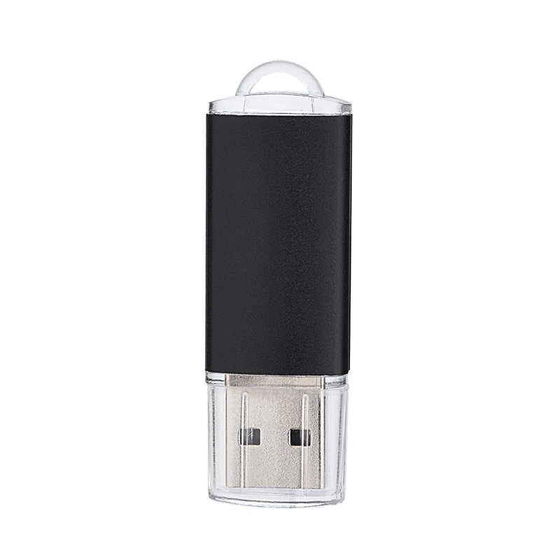 Розничная продажа посылка usb-флэш-накопитель 128 Гб металлический флеш-накопитель 16 ГБ USB флеш-накопитель объемом памяти 32 Гб или 64 ГБ, карта памяти OTG флеш-накопителей и cle usb 2,0