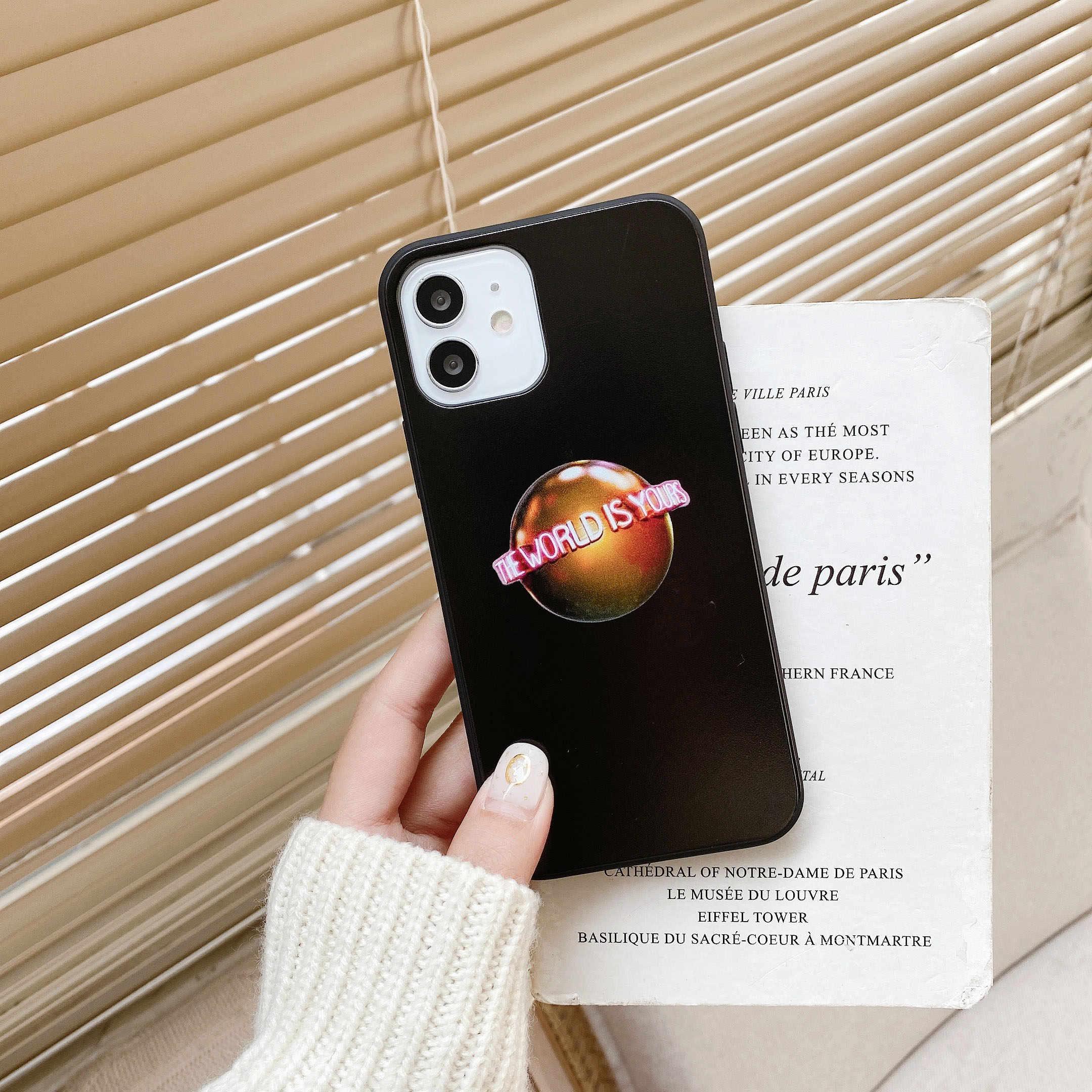 Custodia Cover Scarface Tony Montana per iPhone 12 Mini 12 Pro max 11 11 Pro max X XS XR XS MAX 7 7Plus custodia per telefono in Silicone Coque