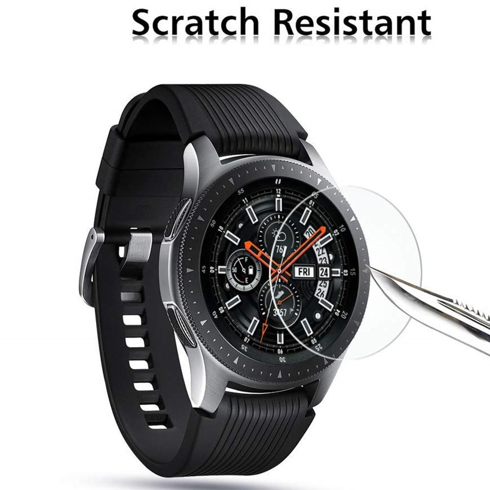 Protetor de tela vidro para samsung gear s3 frontier/s2/esporte smartwatch filme galaxy assista 46mm/42mm/ativo 2 acessórios