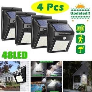 20 48 LED Solar Lights Outdoor