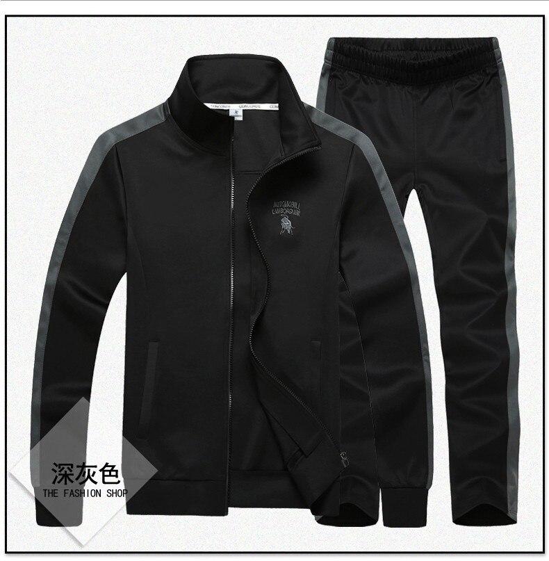 Image 3 - Спортивный костюм, набор мужской одежды, модная одежда большого размера плюс 8XL 9XL, спортивная одежда для мужчин, толстовка с