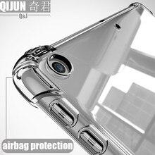 Чехол для планшета Apple ipad 9,7 дюйма, 2018 силиконовый мягкий чехол из ТПУ, подушка безопасности, прозрачная защита для ipad 6-й модели A1893 A1954