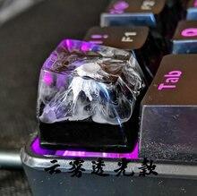 1 шт колпачок для механической клавиатуры с резиновым покрытием