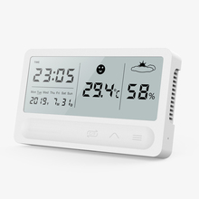 PANDUN Simple Smart Home Digital Electronic Temperature Humidity Meter Household Thermometer Indoor Dry Hygrometer