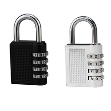 4 Digit Combination Password Lock Zinc Alloy Security Lock Suitcase Luggage Coded Cupboard Cabinet Locker Padlock Password Lock kak combination cabinet lock black silver zinc alloy password locks security home automation cam lock for mailbox cabinet door