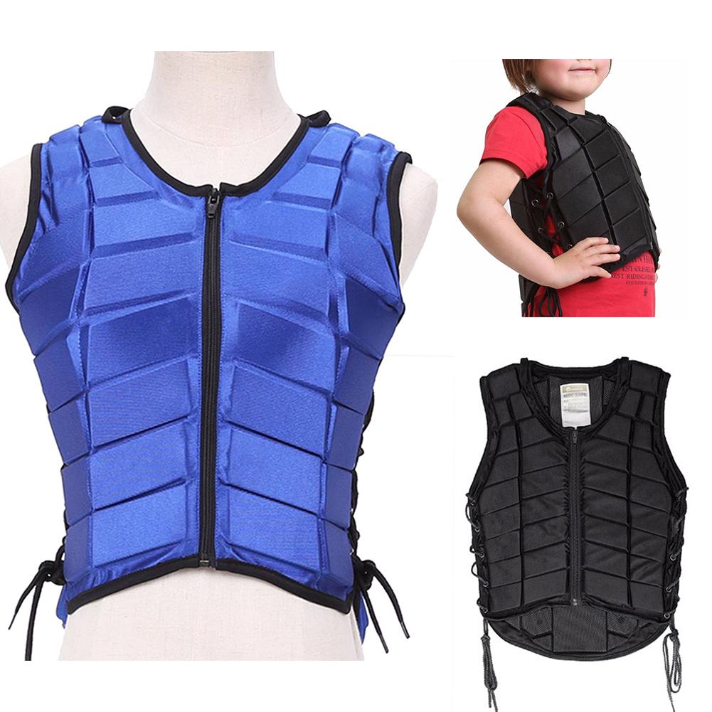 Kid Children Equestrian Horse Riding Body Rope Tie-up Protective Safety Vest