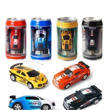 4Colors Remote Control Car Mini Coke RC Car Speed Remote Control Micro Racing Car Kids RC Car Radio-controlled Toys For Children kids rc car toy speed pipes racing track remote control building tubes diy set flash light baby educational toys for children page 4 page 5
