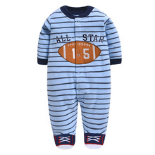 Baby Rompers Christmas Baby Boy Clothes Newborn Clothing Spring Baby Girl Clothes Roupas Bebe Infant Baby Jumpsuits цена 2017