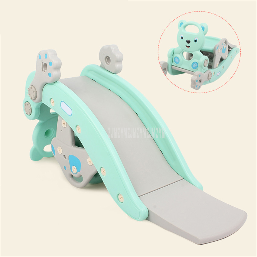 2 In 1 Children Baby Rocking Horse Climbing Slide Toy Multi-function Dual-use Rocking Chair Swing Chair Toy For Kids DQ-T629