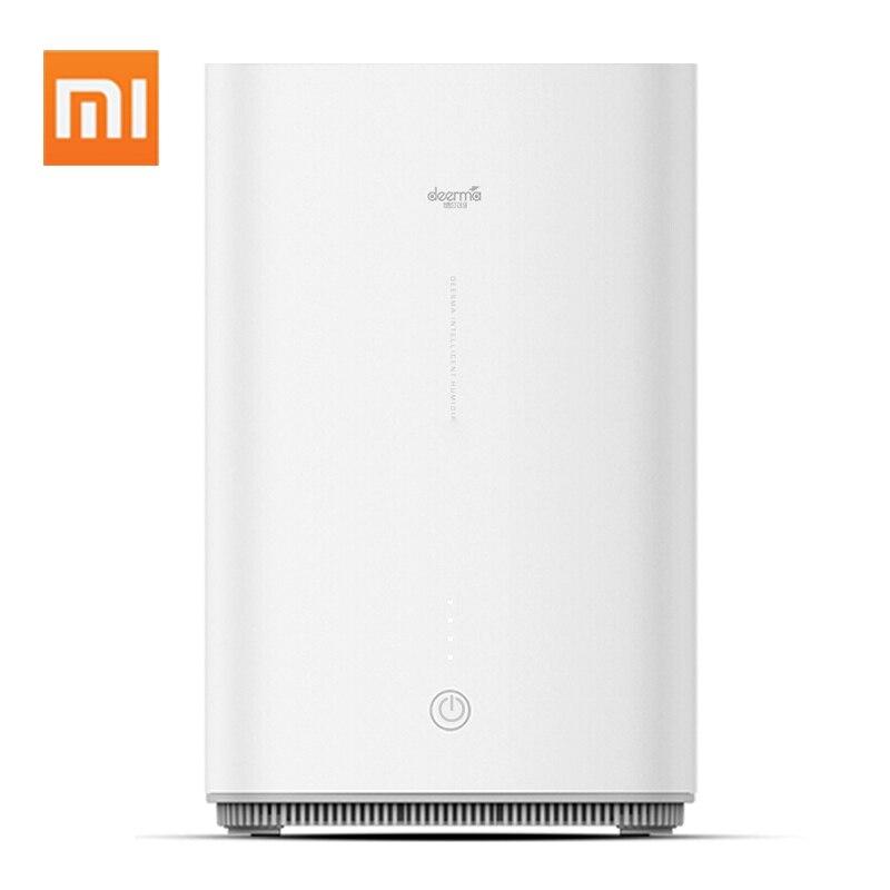 Xiaomi увлажнитель воздуха светодиодный домашний водный диффузор мини увлажнение регулируемый объем тумана семейный распылитель 4л арома-рас...