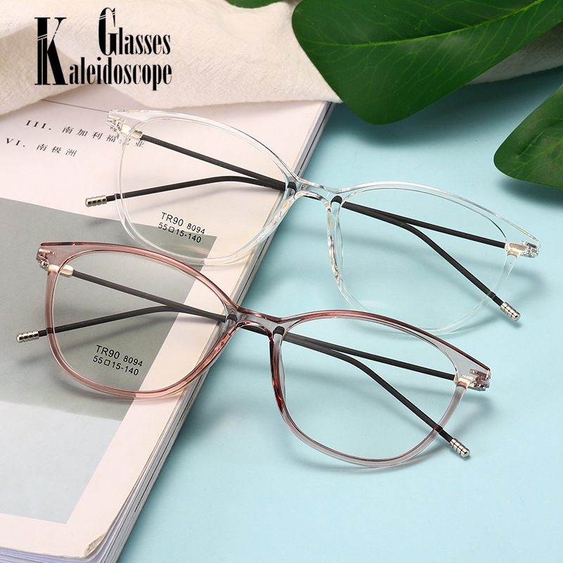 Computer Eyeglasses Clear Glasses Frame Women Men Ultralight Decorative Fake Eye Glasses Ladies Transparent Lens Spectacles