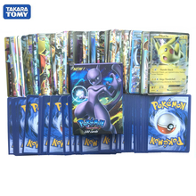 Card Toys 100Pcs/box Pokemon Cards EX Mega shinny card game toy Pokemon booster box Collection Card gift for kids