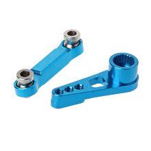 Rudder Pull Rod 25T Servo Swing Arm for WLtoys A949 A959 A969 A979 K929-B Remote Control Car Metal Upgrade Accessories 634F
