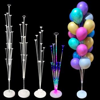 Birthday Party Balloon Stand Column Balloon Garland Wedding Birthday Party Decorations Adult Kids Balloon Box Ballon Accessories