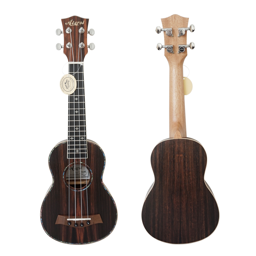21 Inch Jave Ebony Uke Guitar Ukulele With Bag