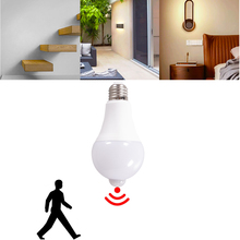 Bulbs Garage Toilet Led-Motion-Sensor Porch Lamp Stair Safety-Night-Light Universal 15W