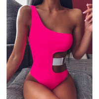 One Shoulder Summer One Piece Swimsuit
