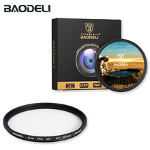 цена на BAODELI MC UV Filter 49 52 55 58 67 72 77 82 Mm For Camera Canon Lens Eos M50 90d 600d Nikon D3200 D3500 D5100 D5600 Sony A6000