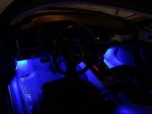 Image 5 - Luz LED Canbus sin Error Para pedales, luz LED para guante bota, lámpara para VW Golf 5 6 7 Jetta SCIROCCO Passat Polo cc 6R 6C, rojo, blanco y azul, 2 uds.
