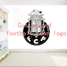 FC Porto removable decoration DIY Wall sticker Customized football team logo Decor kids room bedroom living room vinyl decal D18