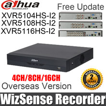 Dahua DVR XVR5104HS-I2 XVR5108HS-I2 XVR5116HS-I2 WizSense grabadora de Video Digital 4ch 8ch 16ch para 6MP H.265 de búsqueda inteligente