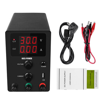 R-SPS3010 Adjustable Switching Regulated Mini  Power Supply 30V 10A Laboratory Source Variable  Current Stabilizer  For Phone PC