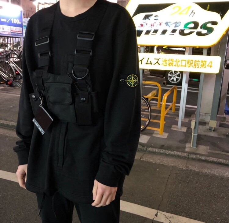 Hcf7f8253f28240a3a8d48e15ebcb31bds - Men Functional Chest Bags Fashion Adjustable Pocket Pack Hip Hop Chest Rig Bag Tactical Streetwear For Women Chestbag G131