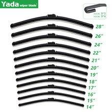 Universal U-type Natural Rubber Windshield Wiper Blade 14 ″ 15 ″ 16 ″ 17 ″ 18 ″ 19 ″ 20 ″ 21 ″ 22 ″ 24 ″ 26 ″ 28