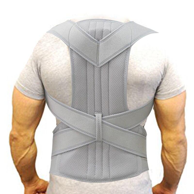 Dos soutien ceinture hommes femmes réglable Posture correcteur lombaire dos soutien orthèse respirant Deportment Corset pour la colonne vertébrale