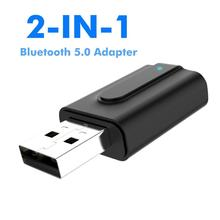 Car Bluetooth Transmitter Wireless 3.5mm Aux Bluetooth Receiver USB Audio Music Transmitter Receiver 5.0 USB Bluetooth Adapter bluetooth 4 2 receiver 3 5mm vehicle wireless bluetooth adapter bluetooth audio frequency receiver usb automobile aux