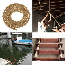 Премиум обработанная универсальная витая веревка из Манилы un
