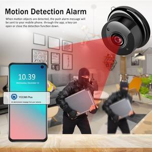 Image 2 - Mini caméra de surveillance IP WIFI Cloud hd 1080P, dispositif de sécurité sans fil, babyphone vidéo, avec Vision nocturne infrarouge, détection de mouvement et port SD