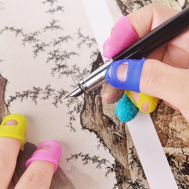 Outil de tricot à pointe creuse Silicone | Multifonction, pointe à molette, protège-doigts de guitare, outil de bricolage, accessoires dartisanat 1 pièce