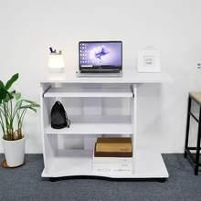 Bureau à domicile Portable Sur la Table de Lit Canapé Canapé Roulette Ordinateur Portable Bureau Haute Qualité Chambre Meubles Muebles HWC