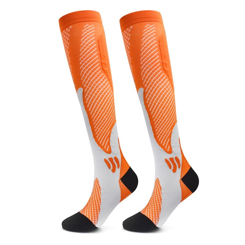 Men Women Compression Socks Medical Nursing Socks Running Golf Rugby Hiking Socks Cycling Breathable Sports Socks