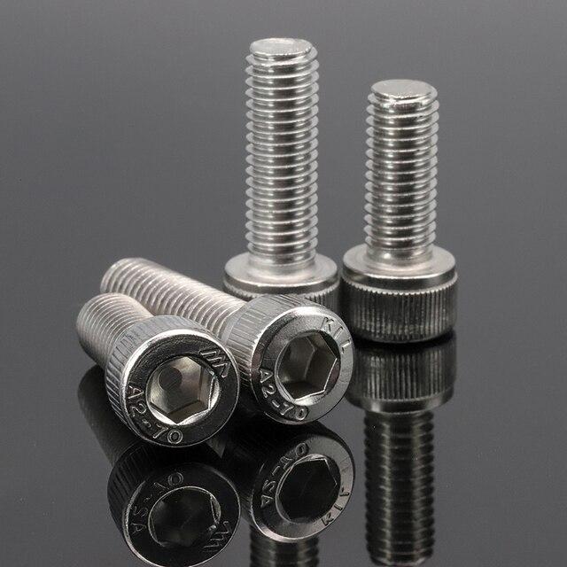 Baut Stainless Steel M1.6 M2 M2.5 M3 M4 M5 M6 M8 M10   5