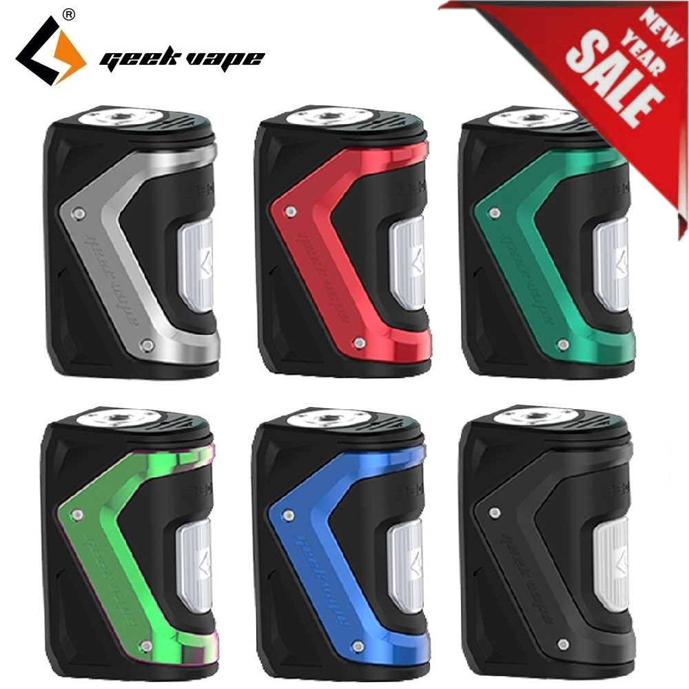 New Year Sale  !! 100W GeekVape Aegis Squonker TC MOD With Max 100W Output & 10ml Bottle E-cig Vape  VS Aegis Solo Mod