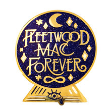 Fleetwood Mac Forever Kristal Bal Harde Emaille Cloisonne Glitter Pin(China)