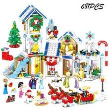 Конструктор «холодные друзья» disney наборы на Рождество для