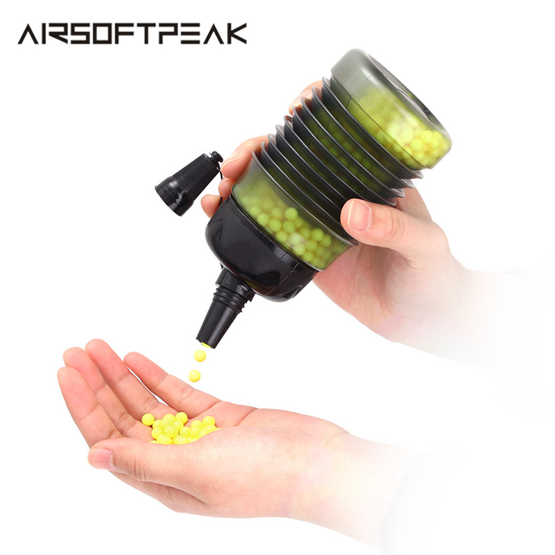 Airsoft 2300 Rounds Tactical Airsoft Speed BB Loader Expandable Bottle Military Paintball Hunting Shooting BB Balls Equipment