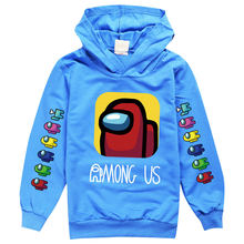 2 16y baby boys clothes kids game among us hoodie girls cartoon