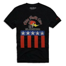 Tee-shirt gris Vintage Dixieland-m. Hp
