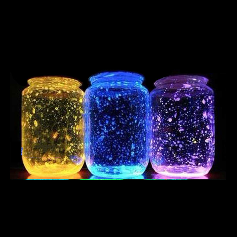 Glow vases In The Dark 10g Luminous Party DIY Bright Noctilucent Sand Paint Star Wishing Bottle Fluorescent Particles Kid Gift