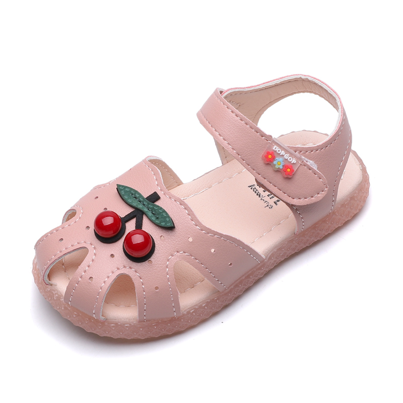 Summer Children Sandals Toddler Soft Non-slip Princess Shoes Kids Candy Jelly Beach Shoes Girl Kids Casual Roman Slippers