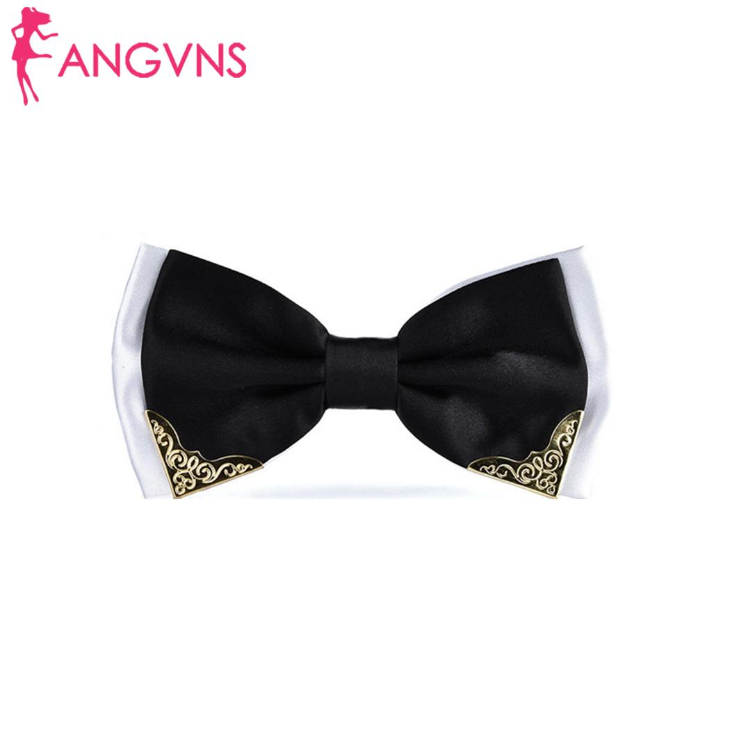 Unisex Fashion Double Layer Necktie Butterfly Necktie Formal Easy And Comfortable To Wear Wedding Bow Tie