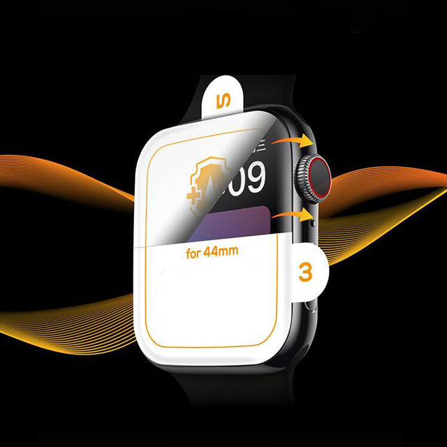 3D Hydrogel Film Full Edge Cover Soft Screen Protector Protective For iwatch Apple Watch Series 2/3/4/5/6/SE 38mm 42mm 40mm 44mm 5