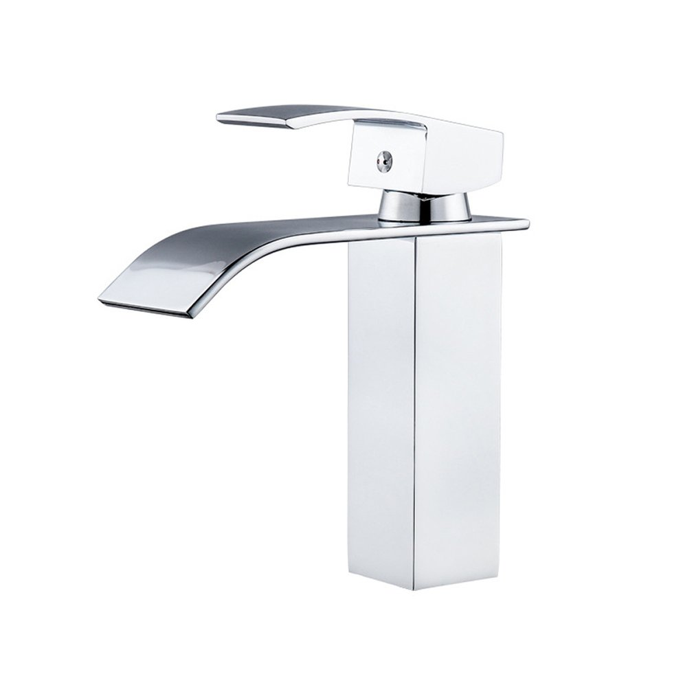 Кран для ванной комнаты с креплением, смеситель для раковины, кран для холодной и горячей воды