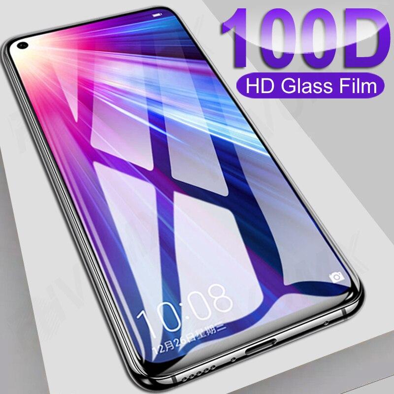 Protecteur décran, Film en verre trempé 100D pour Huawei honour View 20 30 20S 30S 30 Lite 10i 20i